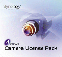 Synology IP Camera License Pack for 4 (CLP4)